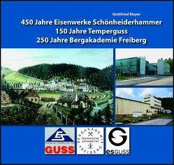 450 Jahre Eisenwerke Schönheiderhammer – 150 Jahre Temperguss – 250 Jahre Bergakademie Freiberg von Mayer,  Gottfried