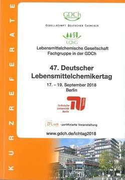 47. Deutscher Lebensmittelchemikertag