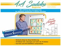 4×4 Sudoku Beginner Pocket von Bood,  Werner
