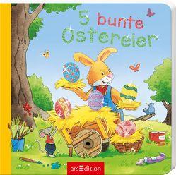 5 bunte Ostereier von Cuno,  Sabine, Schuld,  Kerstin M.