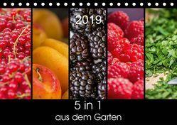 5 in 1 – aus dem Garten (Tischkalender 2019 DIN A5 quer) von Neuner,  Harald, Neuner-Gyß,  Petra