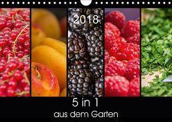 5 in 1 – aus dem Garten (Wandkalender 2018 DIN A4 quer) von Neuner,  Harald, Neuner-Gyß,  Petra