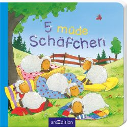 5 müde Schäfchen von Cuno,  Sabine, Schuld,  Kerstin M.