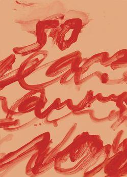 50 Jahre Arbeiten auf Papier von Twombly,  Cy