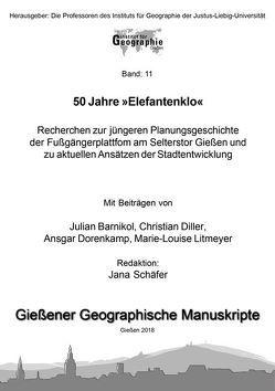 50 Jahre »Elefantenklo« von Barnikol,  Julian, Diller,  Christian, Dorenkamp,  Ansgar, Litmeyer,  Marie-Louise, Schäfer,  Jana
