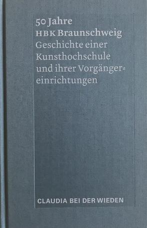 50 Jahre HBK Braunschweig von Wieden,  Claudia bei der