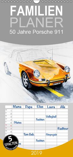 50 Jahre Porsche 911 – Familienplaner hoch (Wandkalender 2019 , 21 cm x 45 cm, hoch) von Bartsch / design,  Andreas, bartsch.