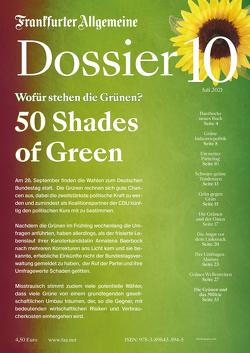 50 Shades of Green von Archiv,  Frankfurter Allgemeine, Knop,  Carsten, Kohler,  Berthold, Trötscher,  Hans Peter