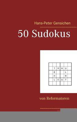 50 Sudokus von Gensichen,  Hans-Peter