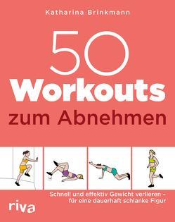 50 Workouts zum Abnehmen von Brinkmann,  Katharina