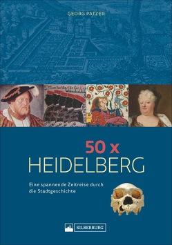 50 x Heidelberg von Patzer,  Georg