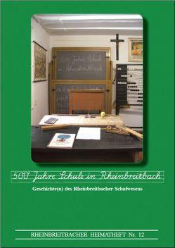 500 Jahre Schule in Rheinbreitbach von Federhen,  Ansgar