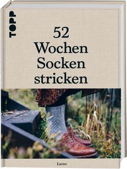 52 Wochen Socken stricken von Krabbe,  Wiebke
