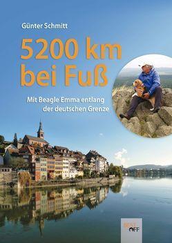 5200 km bei Fuß von Schmitt,  Günter