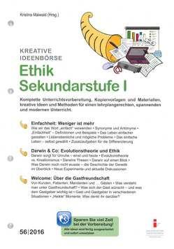 55. Ethik Sekundarstufe I von Kunz,  Christoph, Maiwald,  Kristina