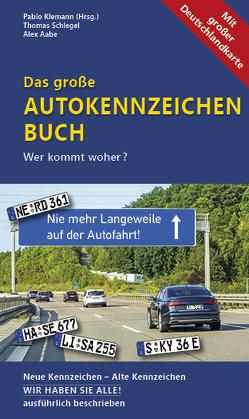 5er-Pack – Das große Autokennzeichen Buch von Aabe,  Alex, Klemann,  Pablo, Schlegel,  Thomas