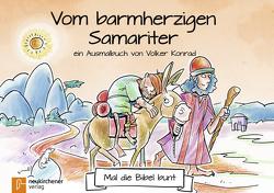 5er-Pack: Mal die Bibel bunt – Vom barmherzigen Samariter von Konrad,  Volker