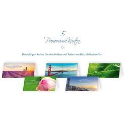 5er-Set Grußkarten »Von guten Mächten« mit Segenswünschen