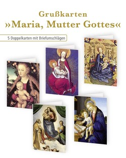 5er-Set Klappkarten »Maria, Mutter Gottes«
