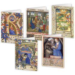 5er-Set Weihnachtskarten »Heilige Nacht«