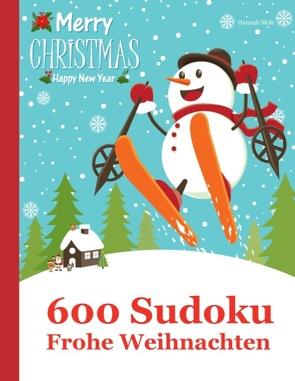600 Sudoku – Frohe Weihnachten von Mole,  Hannah