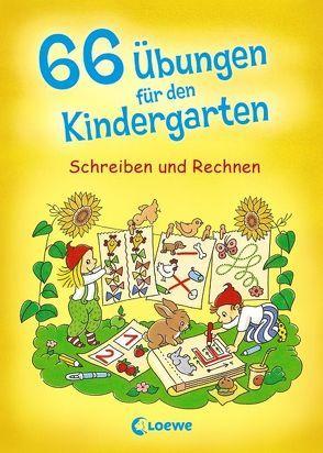 66 Übungen für den Kindergarten von Kalwitzki,  Sabine, Maassen,  Simone, Wirtz,  Simone, Wittenburg,  Christiane
