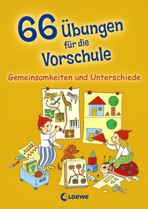 66 Übungen für die Vorschule von Carstens,  Birgitt, Wirtz,  Simone