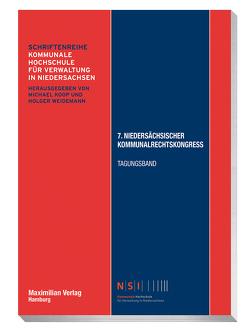 7. Niedersächsischer Kommunalrechtskongress von Seybold,  Jan