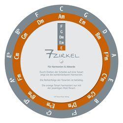 7-Zirkel / Quintenzirkel von CM Piano Music Verlag, Karmann,  Micha, Malecki,  Cornelia