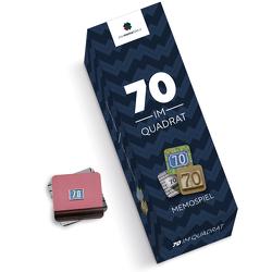 70 im Quadrat