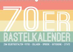 70er Jahre Bastelkalender – DIY Kreativ-Kalender zum Selbstgestalten (Wandkalender 2020 DIN A3 quer) von Speer,  Michael