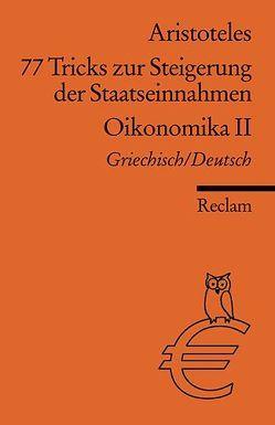 77 Tricks zur Steigerung der Staatseinnahmen von Aristoteles, Brodersen,  Kai