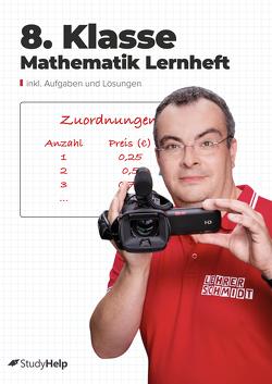 8. Klasse Mathematik Lernheft von Abrams,  Stefan, Schmidt,  Kai