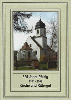 825 Jahre Pölzig (1184 – 2009). Kirche und Rittergut von Altenburger Akademie,  Evangelische Erwachsenenbildung, Hummel,  Günter, Näther,  S., Reinhold,  Frank
