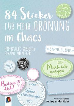 84 Sticker für mehr Ordnung im Chaos von Redaktionsteam Verlag an der Ruhr