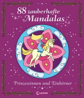 88 zauberhafte Mandalas – Prinzessinnen und Einhörner von Labuch,  Kristin