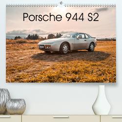 ´89 Porsche 944 S2 (Premium, hochwertiger DIN A2 Wandkalender 2020, Kunstdruck in Hochglanz) von Reiss,  Björn