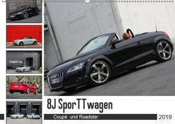 8J SporTTwagen Coupé und Roadster (Wandkalender 2019 DIN A2 quer) von SchnelleWelten