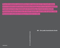 8M – Der große feministische Streik von Bardet,  Marie, Draper,  Susana, Gago,  Verónica, Grieder,  Michael, Gutiérrez Aguilar,  Raquel, Lorey,  Isabell, Menéndez Díaz,  Mariana, Montanelli,  Marina, Raunig,  Gerald, Rolnik,  Suely