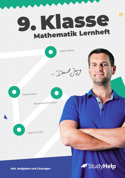 9. Klasse Mathematik Lernheft von Jung,  Daniel, Wiens,  Lucas