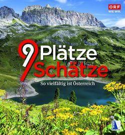 9 Plätze – 9 Schätze (Ausgabe 2016) von Löffler,  Dietmar, ORF