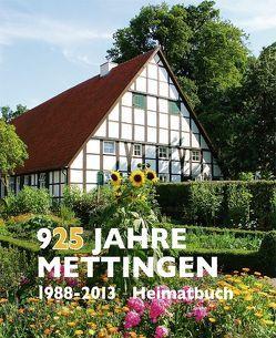 925 Jahre Mettingen von Käller,  Karl Heinz, Kellinghaus,  Helmut
