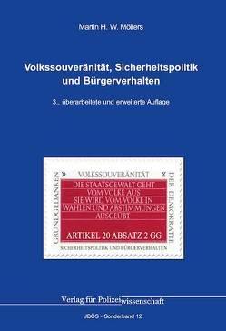 Volkssouveränität und Sicherheitspolitik von Möllers,  Martin H.W.