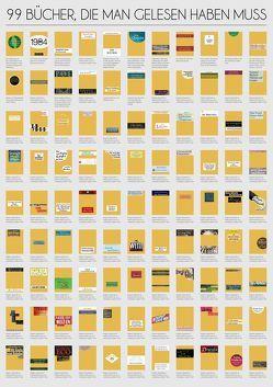 99 Bücher, die man gelesen haben muss von Riva Verlag