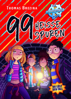 99 heiße Spuren von Brezina,  Thomas