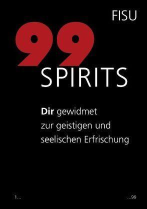 99 Spirits von Zbinden,  Rudolph