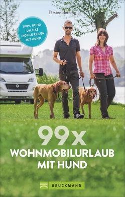 99 x Wohnmobil mit Hund von Berning,  Torsten