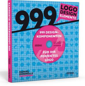 999 Logodesign-Elemente von Donnelly,  Daniel, Meinel,  Maria