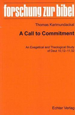 A Call to Dommitment von Karimundackal,  Thomas