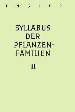 A. Engler's Syllabus der Pflanzenfamilien. Mit besonderer Berücksichtigung… / Angiospermen. Übersicht über die Florengebiete der Erde von Engler,  Adolf, Melchior,  Hans